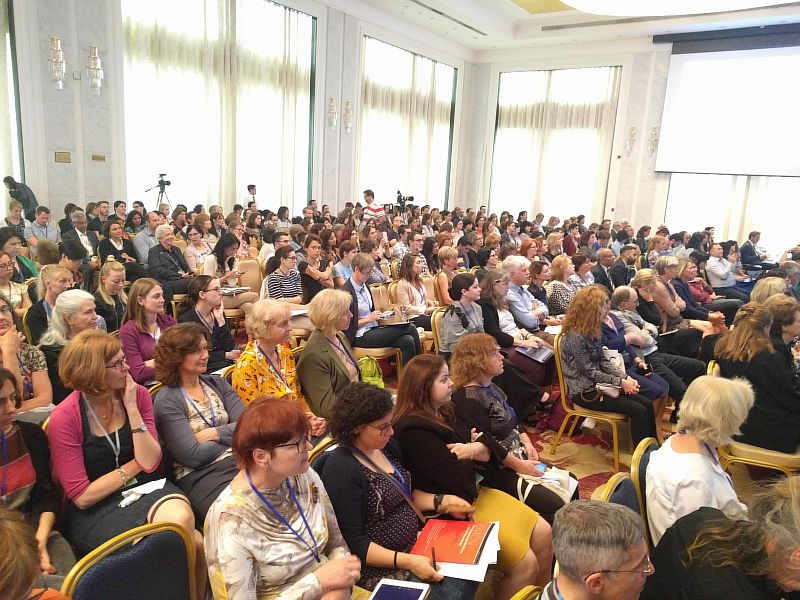 Audience during the EACD conference 2018