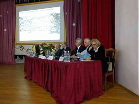 Presidium during the Conference on physical rehabilitation in Kyiv