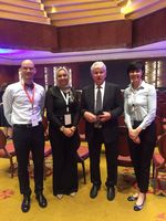 Group photo on the The 2nd Kuwait International Physical Therapy Conference