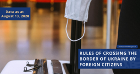 Rules of crossing the border of Ukraine by foreign citizens