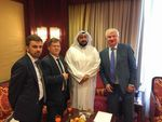 Meeting with Kuwaiti Minister of Health Sheikh Dr. Bassel Al-Sabah
