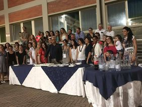 Photo of all participants of the summer school in Pisa, Italy