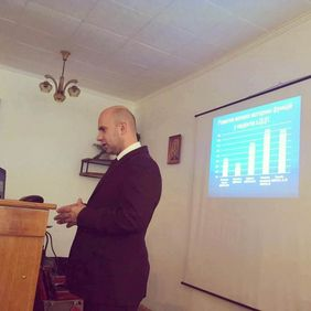 Taras Voloshyn at the Physical and Rehabilitation Medicine in Ternopil